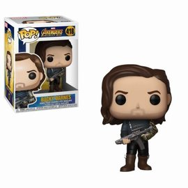 FUNKO Pop! Marvel: Infinity War - Bucky with Weapon