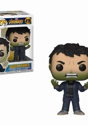 Pop! Marvel: Infinity War - Banner with Hulk Head