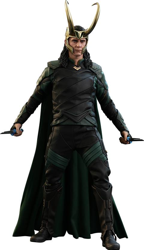 Hot toys marvel thor ragnarok Loki 1:6 scale figure