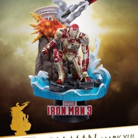 Beast Kingdom Marvel: Iron Man 3 - Mark 42 - 10th Anniversary MCU PVC Statue