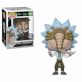 FUNKO Pop! Cartoons: Rick and Morty - Rick with Facehugger LE