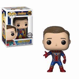 FUNKO Pop! Marvel: Infinity War - Unmasked Iron Spider LE