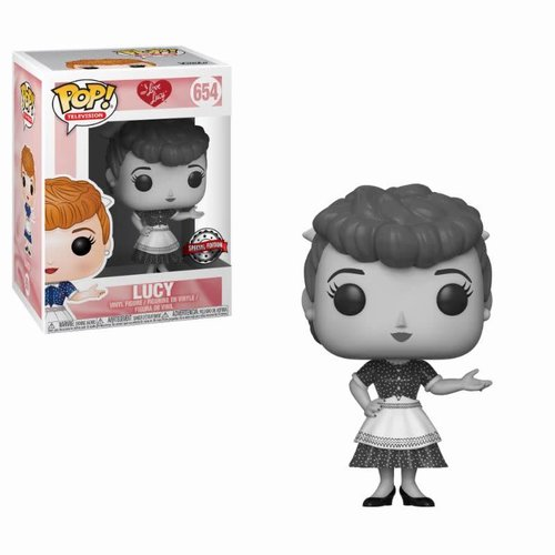 FUNKO Pop! TV: I Love Lucy - Black and White Lucy LE
