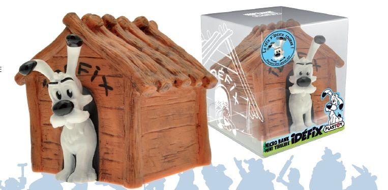 Plastoy Asterix: Dogmatix's Kennel Mini-Moneybox