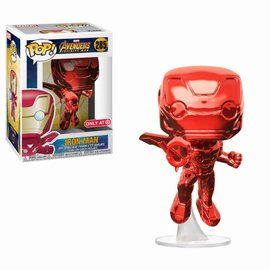 FUNKO Pop! Marvel: Infinity War - Red Chrome Iron Man LE