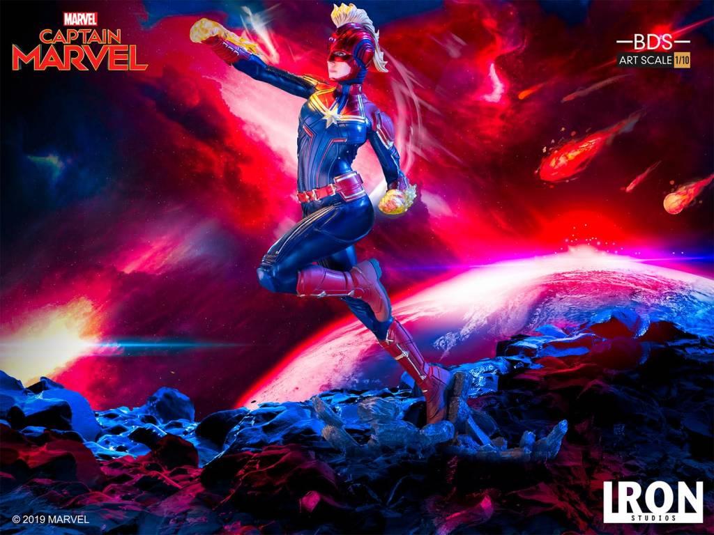 Iron Studio Pre Order Marvel: Captain Marvel 1:10 Scale Statue
