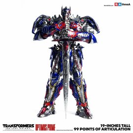 Three A Toys Transformers The Last Knight: Optimus Prime Figur