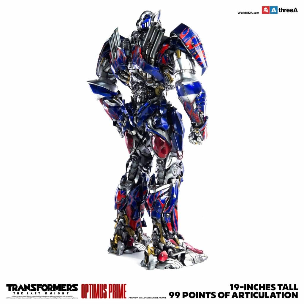 Three A Toys Transformers The Last Knight: Optimus Prime Figur