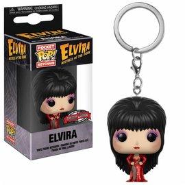 FUNKO Pocket Pop Keychain: Red Dress Elvira LE