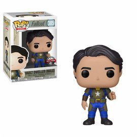 FUNKO Pop! Games: Fallout - Vault Dweller with Mentats LE