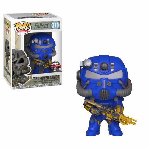 FUNKO Pop! Games: Fallout - Vault Tec Power Armor LE