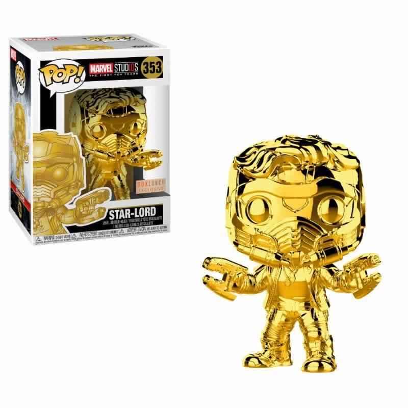 FUNKO Pop! Marvel: GotG - Chrome Star-Lord LE
