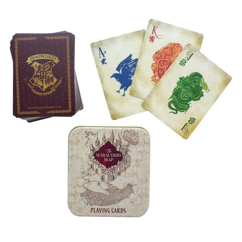 Paladone Harry Potter: Marauders Map Playing Cards