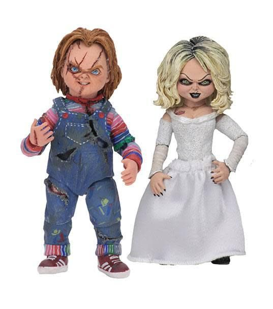 NECA Chucky: Ultimate Chucky and Tiffany 7 inch Scale Action Figure 2-Pack