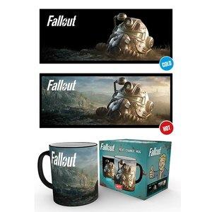 Hole In The Wall Fallout 76: Dawn Heat Change Mug