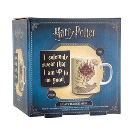 Paladone Harry Potter: Marauders Map Heat Change Mug