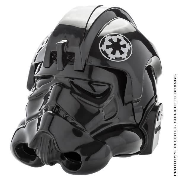 Anovos Star Wars: TIE Fighter Pilot Standard Helmet Prop Replica