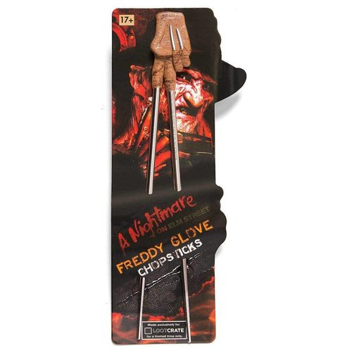 lootcrate freddy glove chopsticks