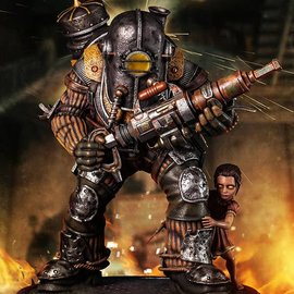 Gaming Heads Bioshock: Big Daddy - Rosie 1:4 Scale Statue