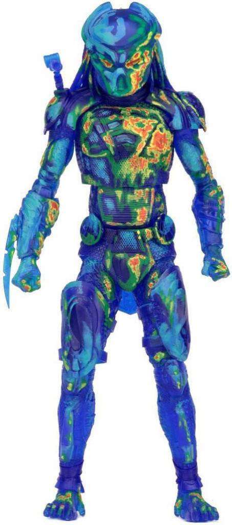 NECA Predator 2018: Thermal Vision Fugitive Predator - 7 inch Action Figure