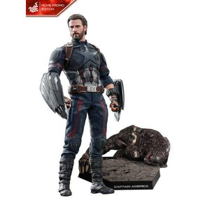 Marvel: Avengers Infinity War - Captain America Movie Promo 1:6 Scale Figure