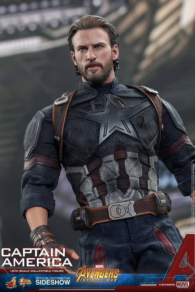 Hot Toy Marvel: Avengers Infinity War - Captain America 1:6 Scale Figure