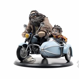 Quantum Mechanix Harry Potter: Harry Potter and Rubeus Hagrid Q-Fig MAX