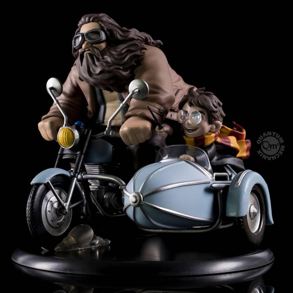 Quantum Mechanix Harry Potter: Harry Potter and Rubeus Hagrid Q-Fig MAX
