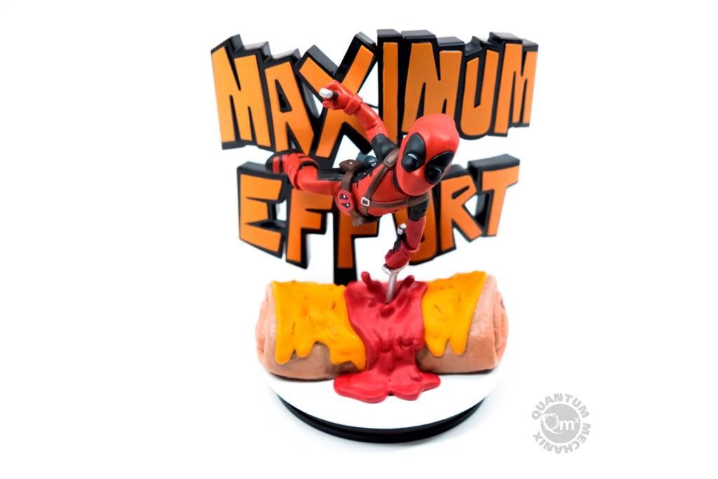 Quantum Mechanix Marvel: Deadpool Maximum Effort Q-Fig MAX Diorama