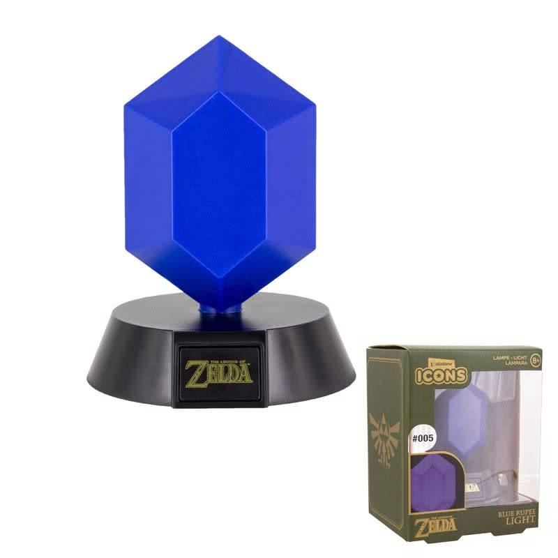 Paladone Zelda: Blue Rupee Icon Light