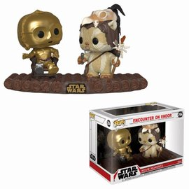 FUNKO Pop! Star Wars: Movie Moment - C-3PO on Throne