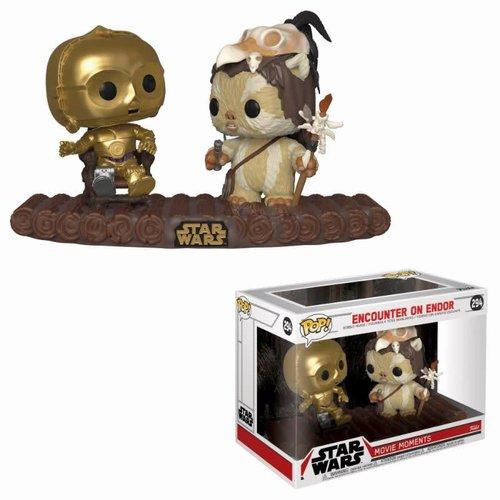 FUNKO Pop! Star Wars: Movie Moment - C-3PO on Throne