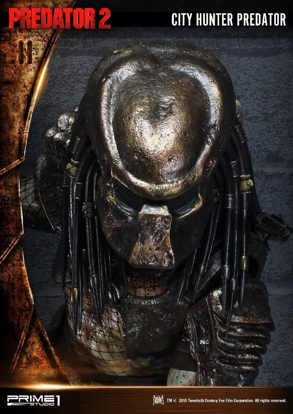Prime 1 Studio Predator 2: Exclusive City Hunter Predator Wall Art