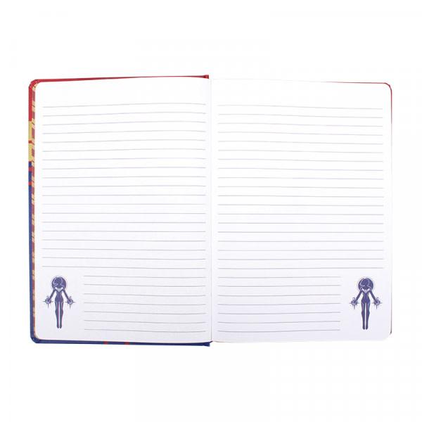 Half Moon  Bay Marvel : Captain Marvel A5 Notebook