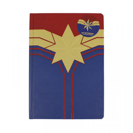 Half Moon  Bay Marvel : Captain Marvel A5 Notebook