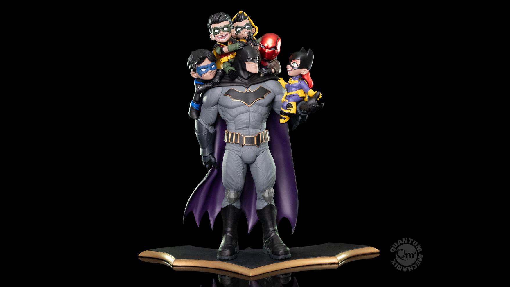 Quantum Mechanix Pre-Order : DC Comics: Batman Family - Q-master Diorama Limited Edition