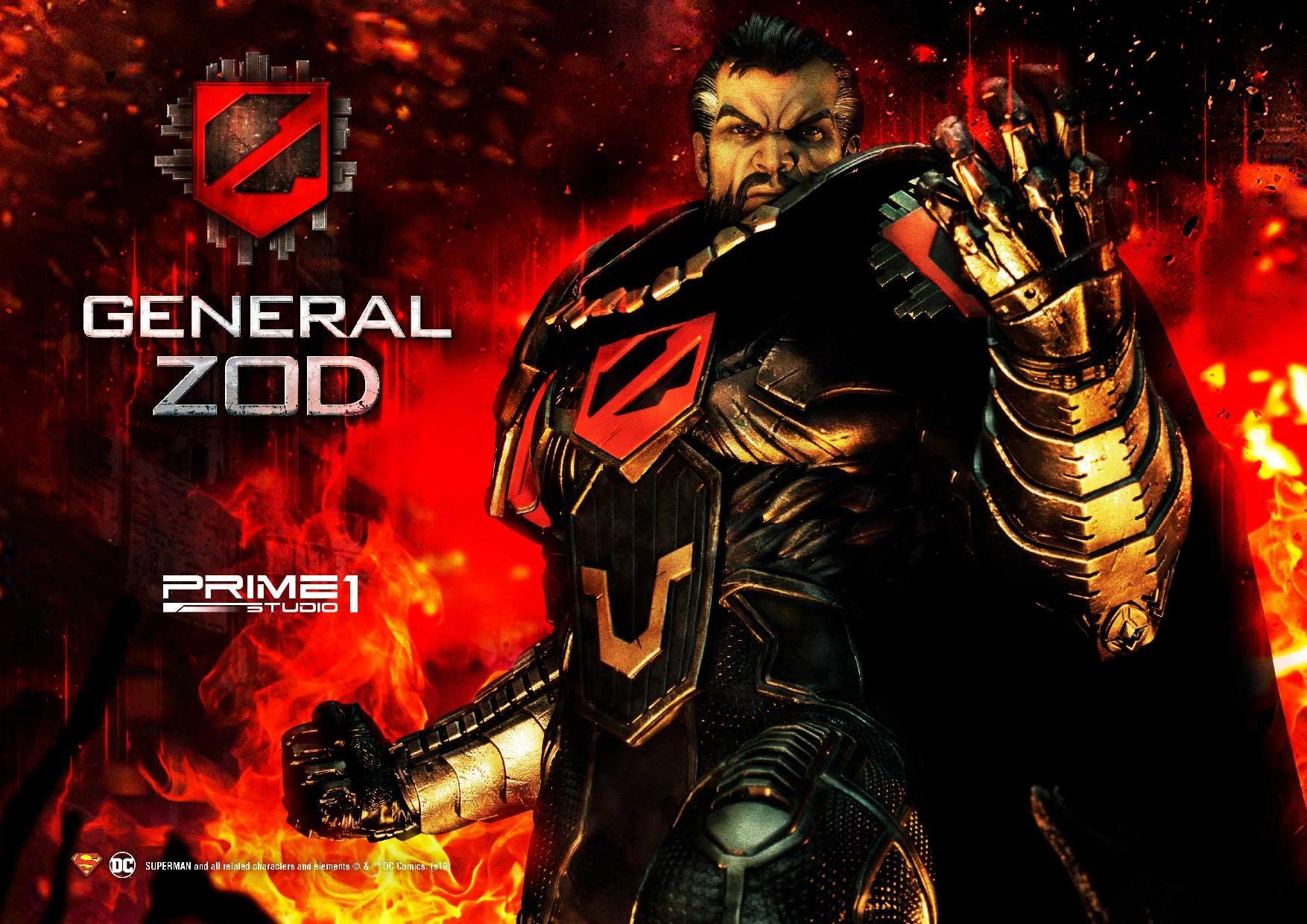 Prime 1 Studio DC Comics: General Zod - 33 inch Statue
