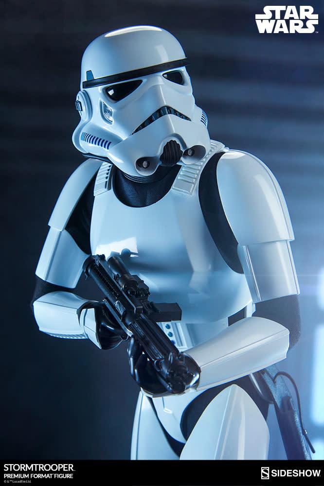 Sideshow Star Wars Stormtrooper premium format