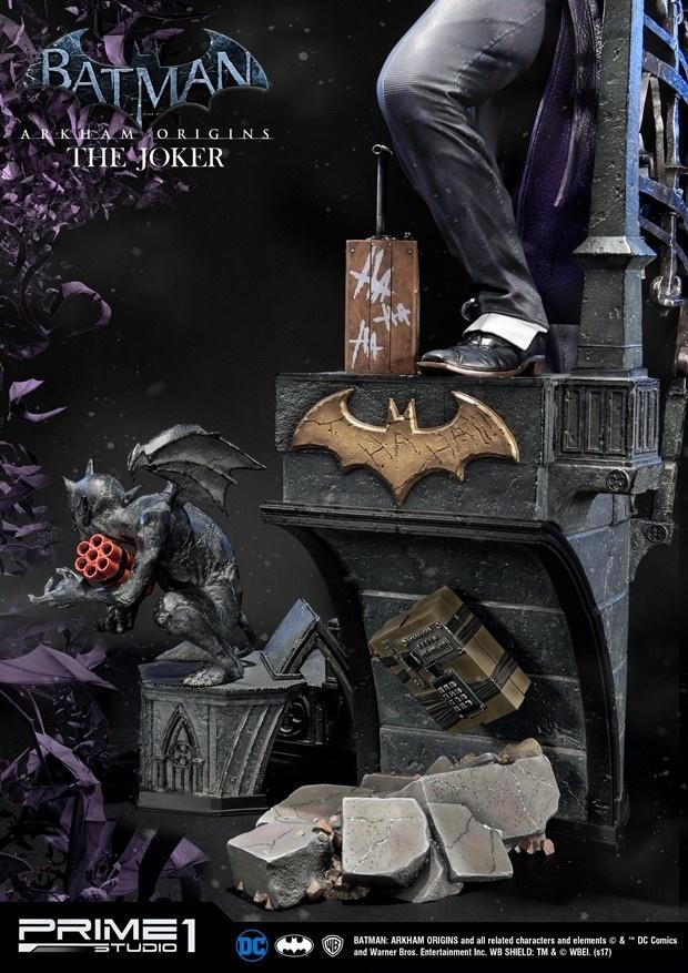 Prime 1 Studio DC Comics: Batman - Arkham Origins - The Joker Statue