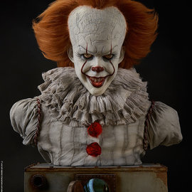 Elite Creature Collectibles PRE ORDER: IT: Pennywise 1:1 Scale Bust