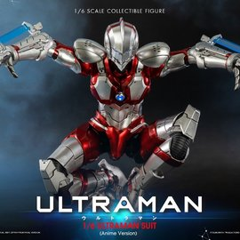 Three A Toys PRE ORDER: Ultraman: Ultraman Suit Anime Version - 1:6 Scale Figure