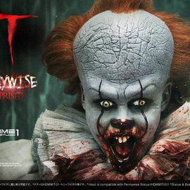 Prime 1 Studio IT: Pennywise Surprised 1:2 Scale Bust