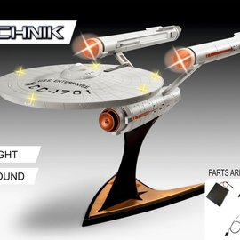 Star Trek: USS Enterprise NCC-1701 Electronic 1:600 Scale Model Kit
