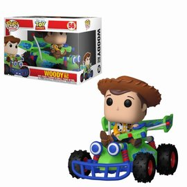 FUNKO Pop! Ride: Toy Story - Woody with RC