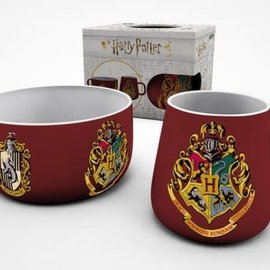 Harry Potter Crests Breakfast Set