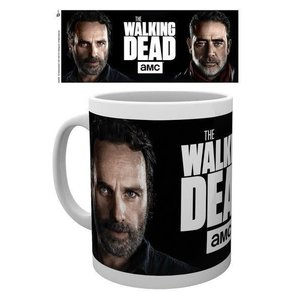 Hole In The Wall The Walking Dead Rick And Negan Mok