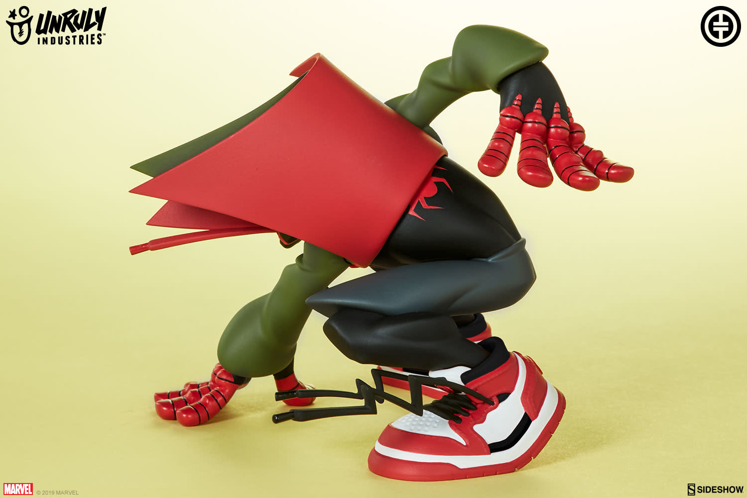 Sideshow Toys Marvel: Super Heroes in Sneakers - Spider-Man - Miles Vinyl Figure