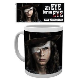 Hole In The Wall The Walking Dead Carl Eye Mok