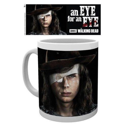 Hole In The Wall The Walking Dead Carl Eye Mok