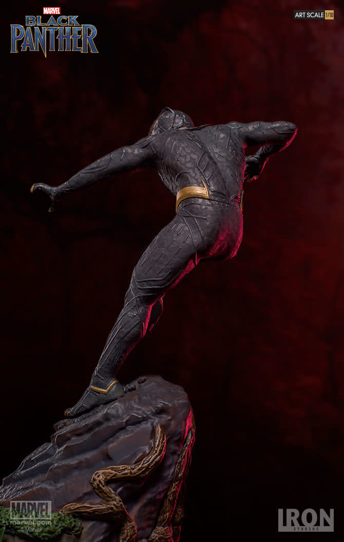 Iron Studios Marvel: Black Panther - Killmonger 1:10 Scale Statue